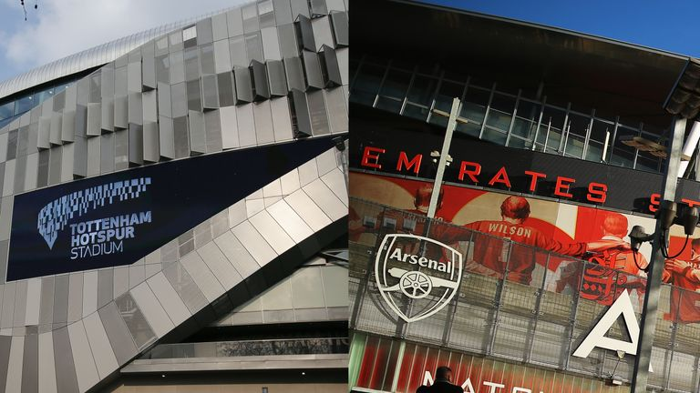 Tottenham's new stadium opens 13 years after Arsenal played their first game at the Emirates Stadium