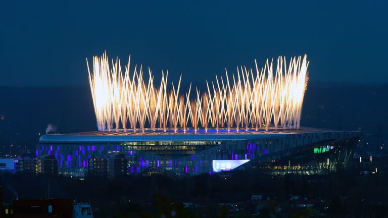 Spurs opened their new stadium with fireworks and a win, all of which signals a bright future for the club...