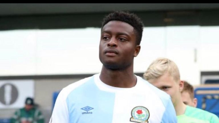 Tyler Magloire recently signed a new contract until 2022 (pic: Blackburn Rovers)