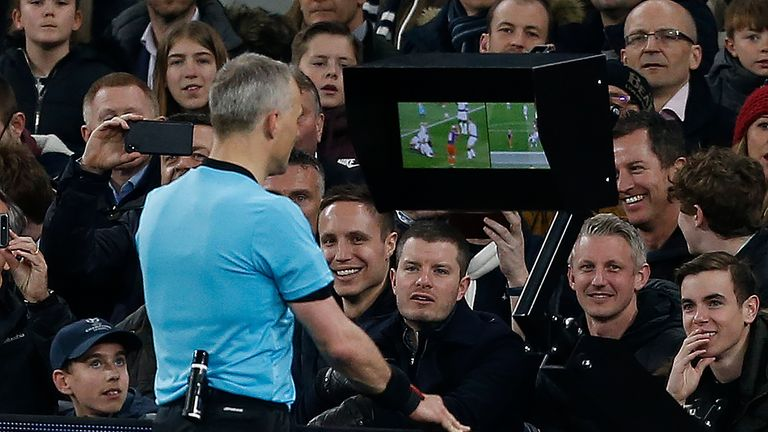 VAR is bring introduced into the Premier League from next season