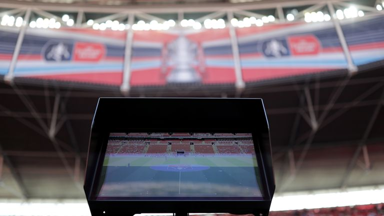 VAR was used in some matches during last season's FA Cup