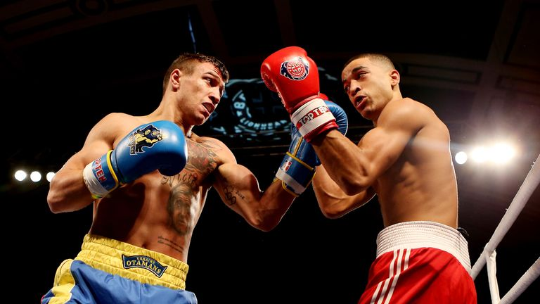 Sam Maxwell faced Lomachenko in the revered fighter's home country