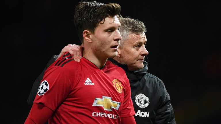 Victor Lindelof is a reported transfer target for Barcelona