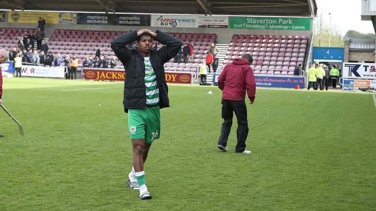 Yeovil were relegated to the National League