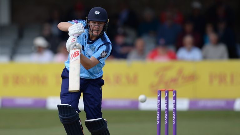 Gary Ballance hit his ninth List A century