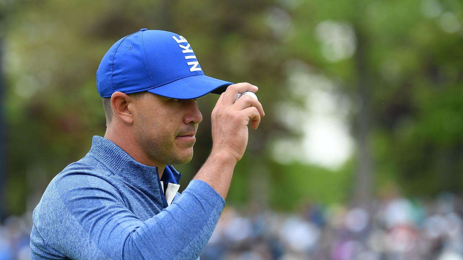 3739f675383b2 PGA Championship  Brooks Koepka seven clear after record start ...