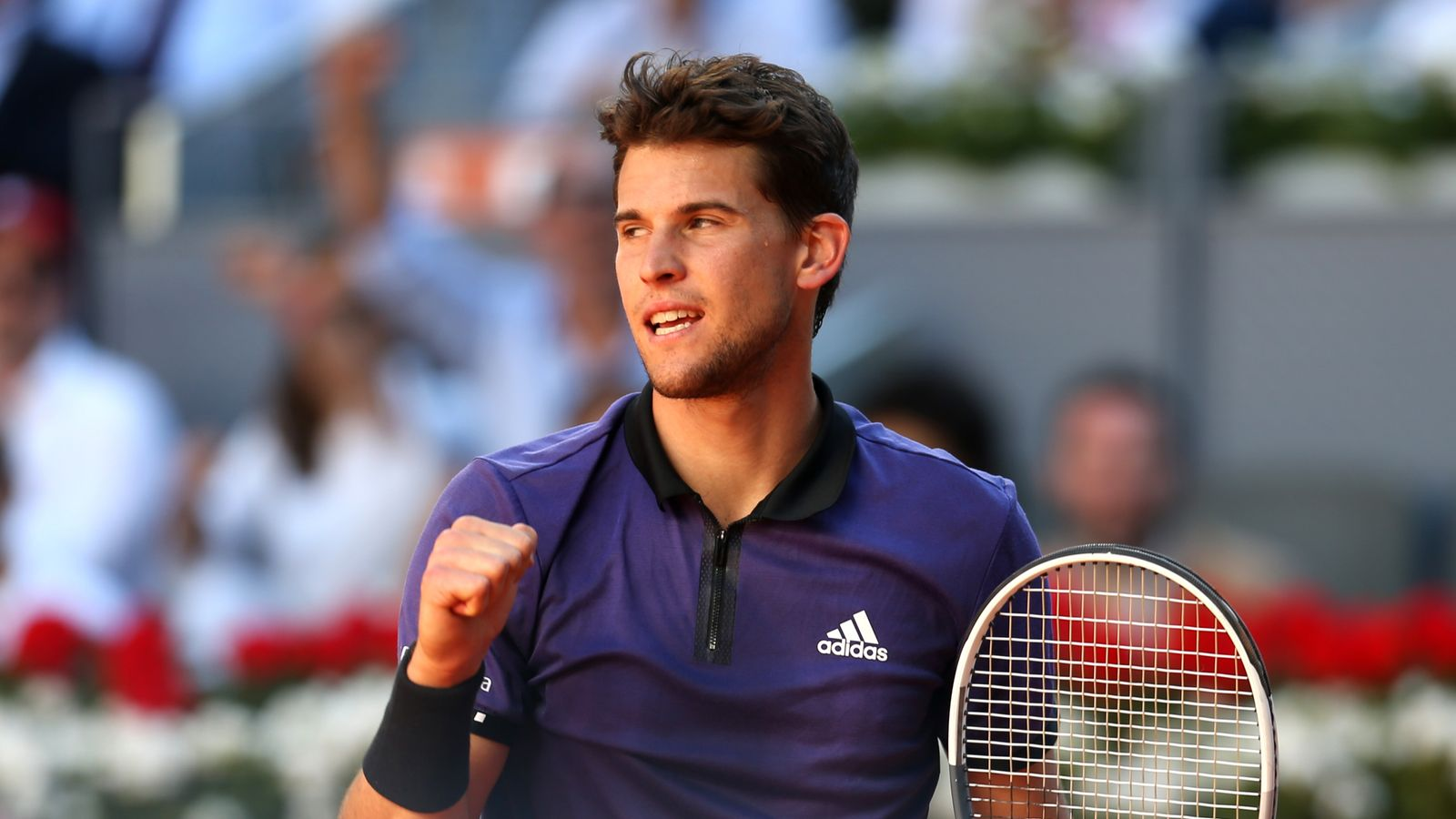Dominic Thiem Defeats Roger Federer To Set Up Semi Final