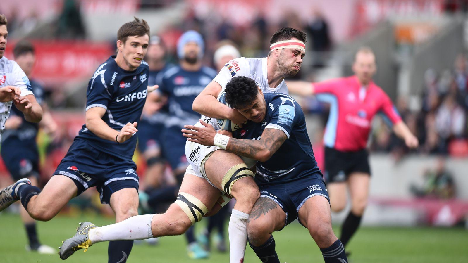 36a573364e5 Sale 46 - 41 Gloucester - Match Report   Highlights