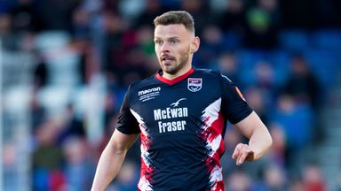 Andy Boyle ended the season on loan at Ross County