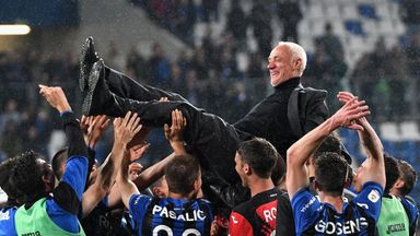 Atalanta have qualified for the Champions League for the first time in their history