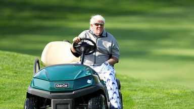 John Daly was permitted to use a buggy at the PGA