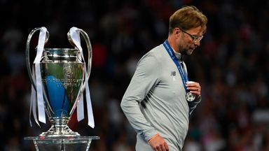 Jurgen Klopp has lost both of his Champions League finals