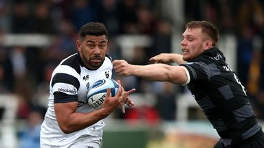 Charles Piutau was one of three try scorers as Bristol ended their first Premiership campaign back with a win at relegated Newcastle