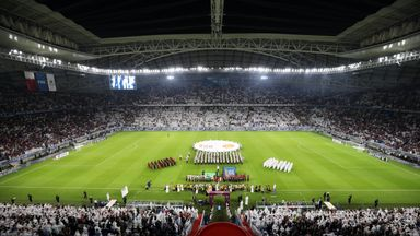 The 40,000 Al-Wakrah stadium is the second to be unveiled ahead of the 2022 FIFA World Cup
