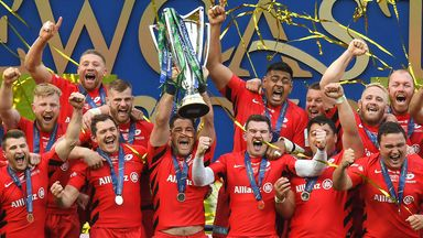 Saracens won a third Champions Cup when they beat Leinster in the final
