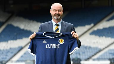 Clarke 'humbled' by Scotland appointment