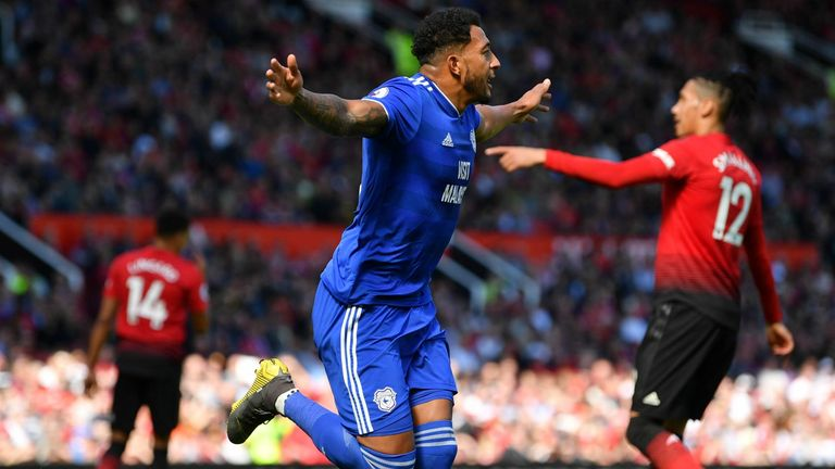 Highlights from Cardiff's win over Manchester United in the Premier League