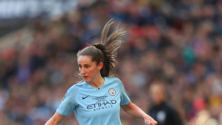 Abbie McManus says she is fulfilling a childhood dream by signing for Man Utd