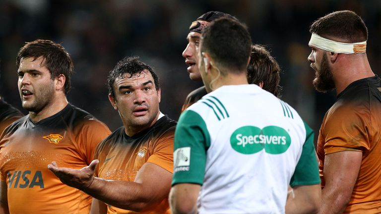 Creevy has the most caps for Super Rugby team Jaguares