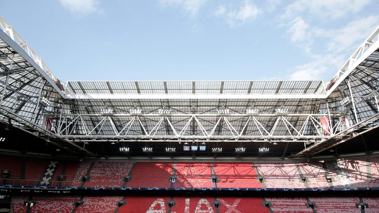 Ajax fans have been banned from the Champions League game at Stamford Bridge