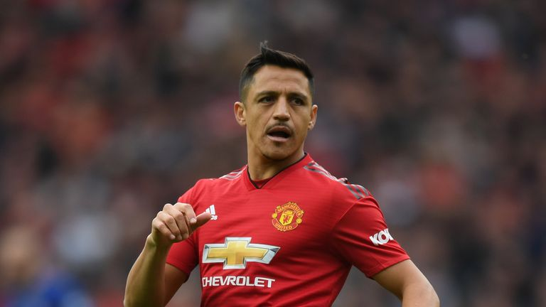 Alexis Sanchez is being linked with a move away from Manchester United