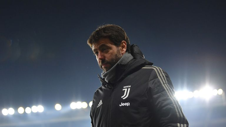 Juventus president and head of the European Club Association Andrea Agnelli, accuses the big five leagues of protectionism.