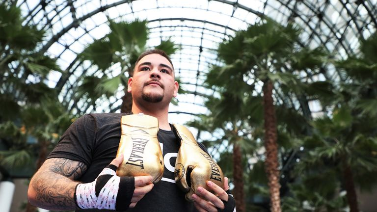 Ruiz Jr has admitted his reluctance to fight in Britain
