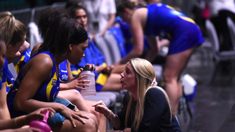 Anna Stembridge will continue to oversee the coaching and development of the Superleague squad