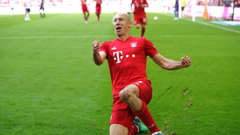 Bayern Munich 5-1 Eintracht Frankfurt: Bayern win seventh straight Bundesliga title