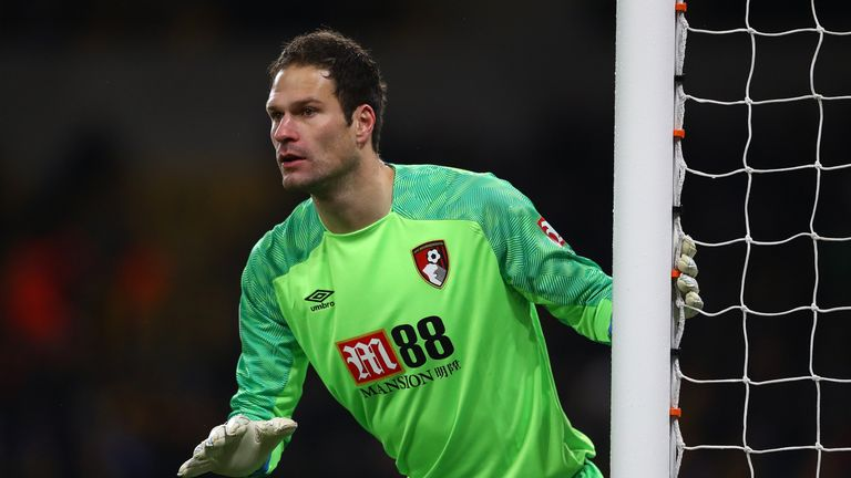 Asmir Begovic has left Bournemouth with Ramsdale now first choice