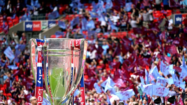 The alleged assault occurred in a car park close to Wembley after the Championship play-of final