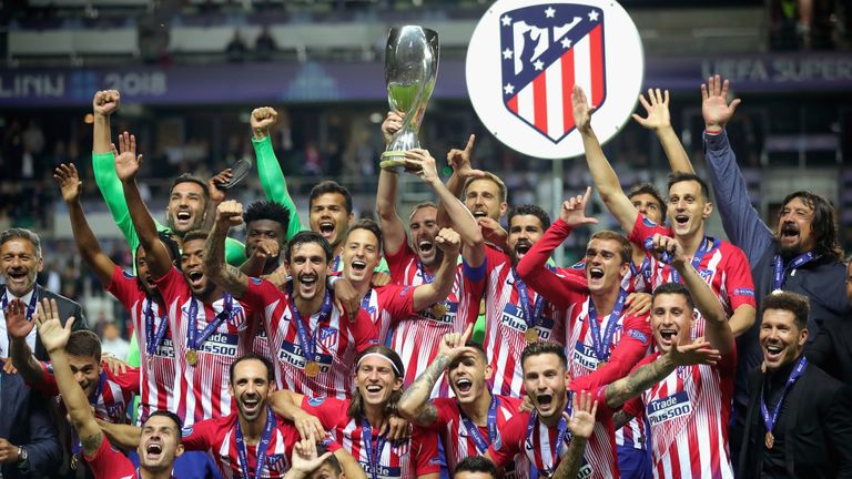 Atletico Madrid are the current holders of the UEFA Super Cup
