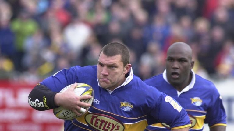 Barrie McDermott was a crucial try scorer for the Rhinos in 1996 when they defeated Castleford