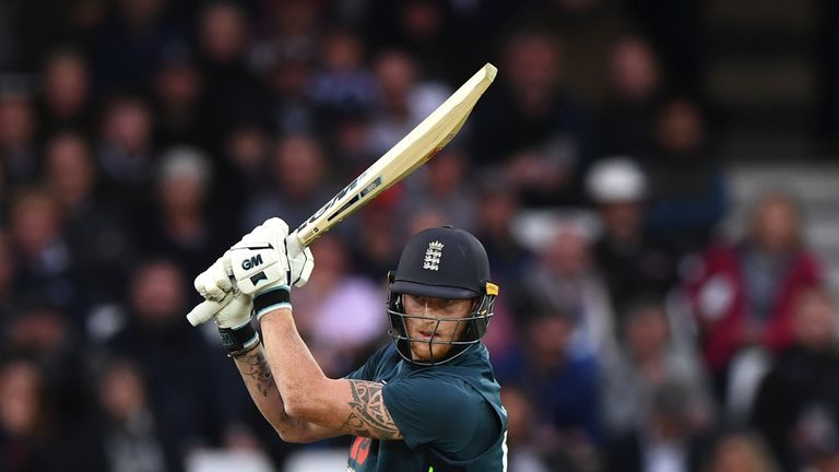 Stokes finished unbeaten on 71 as England wrapped up the series win