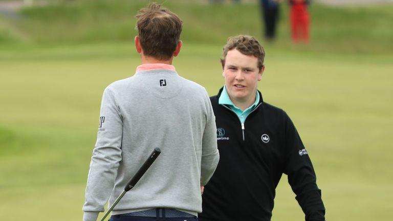 Wiesberger played alongside Robert MacIntyre in the third round