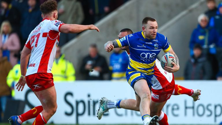Blake Austin has settled quickly into life at Warrington Wolves
