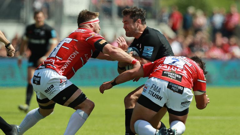 Brad Barritt sustained a hamstring injury in the semi-final win over Gloucester