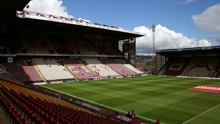 Bradford are investigating alleged racist abuse before the game against Port Vale