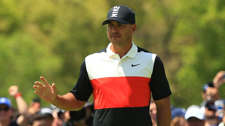 Koepka is one of five players who can end the week as world No 1