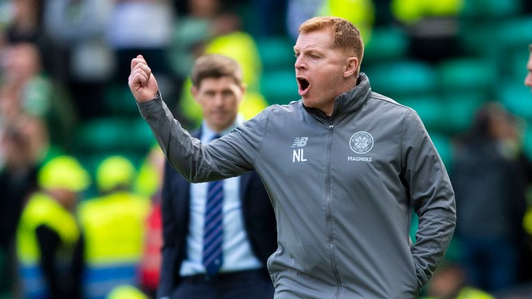 Lennon claimed his fourth Scottish Premiership title in charge of Celtic while acting as interim manger