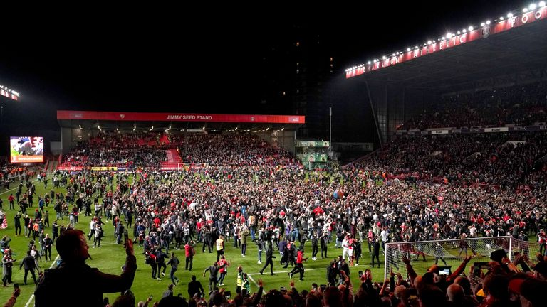 There were wild scenes at The Valley on May 17 after Charlton beat Doncaster on penalties in the play-off semi-final