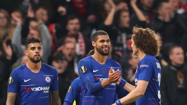 Ruben Loftus-Cheek celebrates scoring Chelsea's first goal