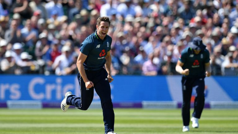 Chris Woakes had taken just one wicket in the previous two ODIs in the series