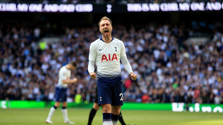 Christian Eriksen could be on the move this summer