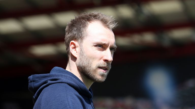 Christian Eriksen says he wants a 'step up' if he leaves Tottenham