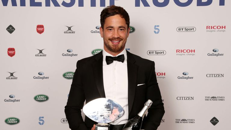 Cipriani was crowned the Rugby Players Association's and Premiership's player of the season for 2018/19