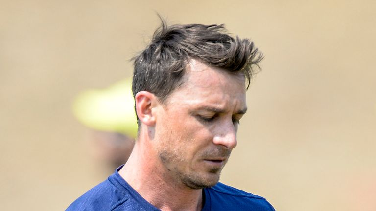 Dale Steyn has been ruled out of the rest of the World Cup with a shoulder injury.