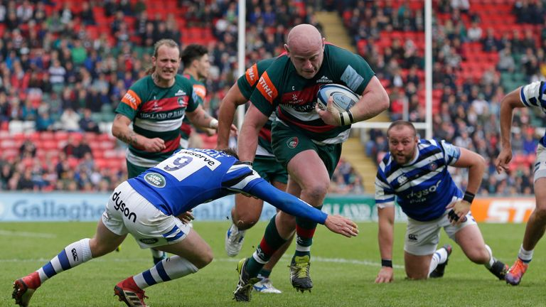 Dan Cole's display against Bath was a positive for Leicester