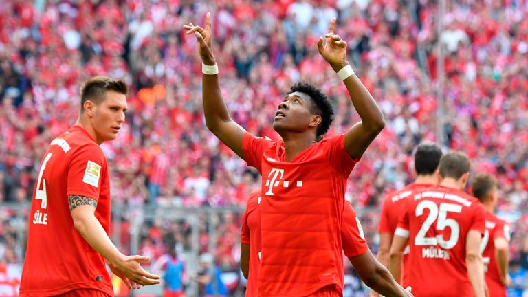 Bayern Munich have no intention of selling left-back David Alaba this summer