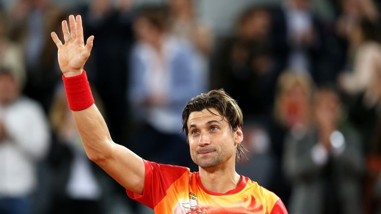 David Ferrer's career came to an end at La Caja Magica on Wednesday
